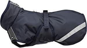 Trixie RIMONT zimní bunda pro psy, XL: 70cm, tmavomodrá/šedá - DOPRODEJ