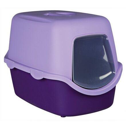 WC VICO kryté s dvířky, bez filtru 56 x 40 x 40 cm,  - fialovo/šeříková