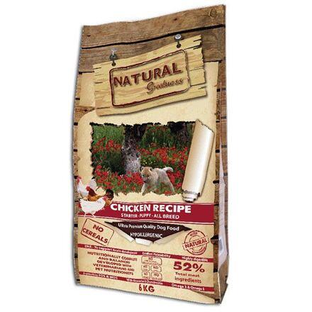 Španělsko Natural Greatness Chicken Recipe Starter Puppy /kuře/ 6kg