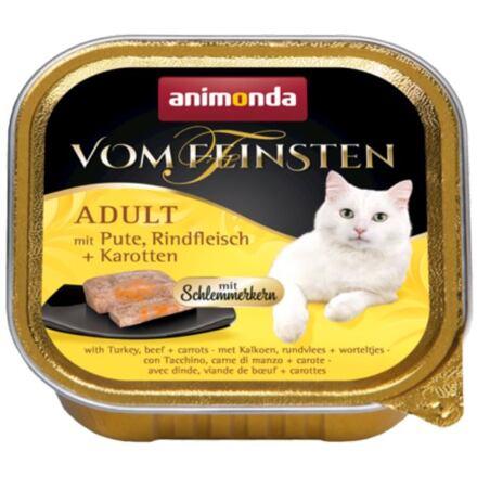 Animonda V.Feinsten CORE krůta, hovězí maso + mrkev pro kočky 100g