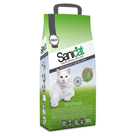 Sanicat SANICAT BIOFRESH hrudkující bentonit,bezprašný 10 L/8,75 kg