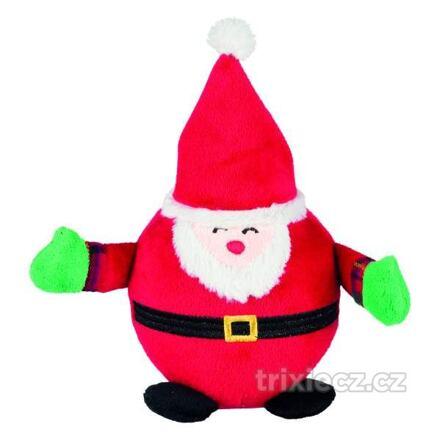 TRIXIE Vánoční kulaté figurky SANTA CLAUS, TUČNÁK, SNĚHULÁK 18 cm
