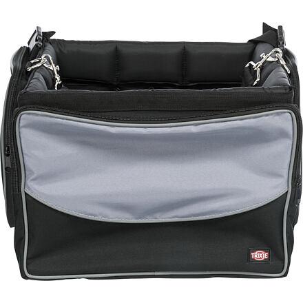 Front-Box transportní box na řidítka, 41 x 26 x 26cm, šedá