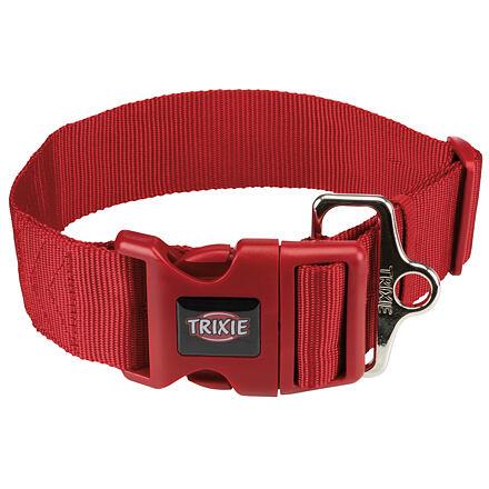 Obojek PREMIUM 40-60 cm/50 mm (M-L),  - červená