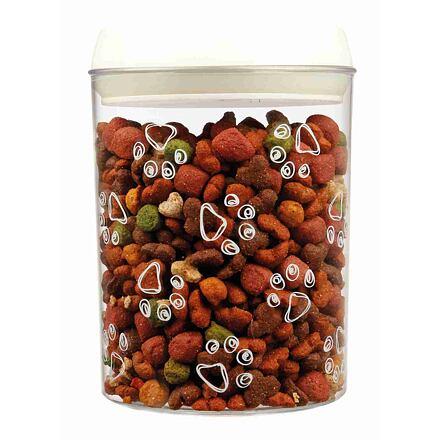 TRIXIE Heimtierbedarf GmbH Plastový zásobník na krmivo a pamlsky 1,5 l / ø 12 × 17,5 cm transparentní