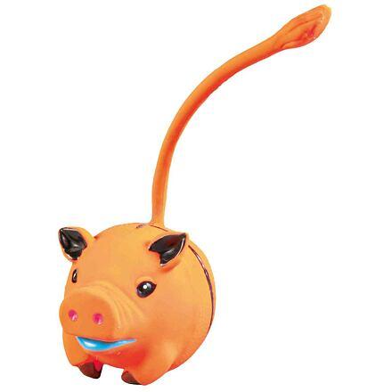 Trixie Latexová zvířátka s ocáskem 6 cm (17ks/bal.)