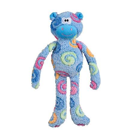Trixie Plyšový heboučký medvídek, různobarevný se zvukem 32 cm - DOPRODEJ