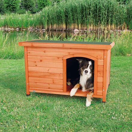 Trixie Bouda pro psa, dřevěná, rovná střecha, M-L 104x72x68 cm