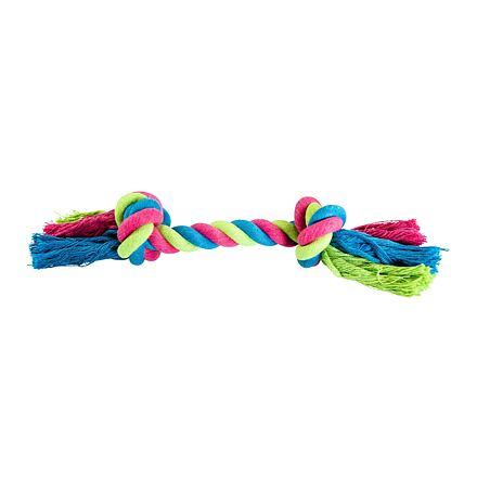 Uzel HipHop bavlněný 2  knoty 25 cm / 75 g růžová, modrá, zelená