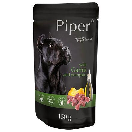 PIPER se zvěřinou a dýní, kapsička pro psy 150 g