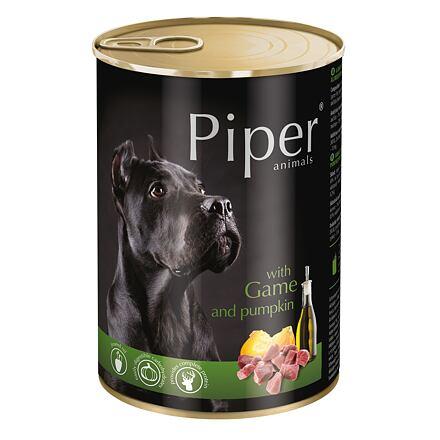 PIPER se zvěřinou a dýní, konzerva pro psy 400g