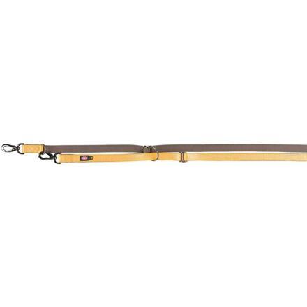 Trixie Vodítko EXPERIENCE prodlužovací M-L 2,00 m/20 mm, žluté - DOPRODEJ