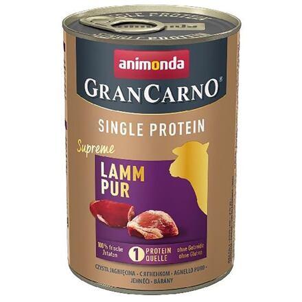 ANIMONDA GRANCARNO Single Protein 400 g čisté jehněčí, konzerva pro psy