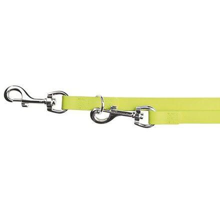Trixie Easy Life přepínací vodítko PVC S-XL 2,00 m/17 mm neon žluté - DOPRODEJ