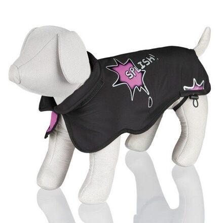 Trixie Softshellová vesta AVALLON černo/růžová M 50 cm - DOPRODEJ