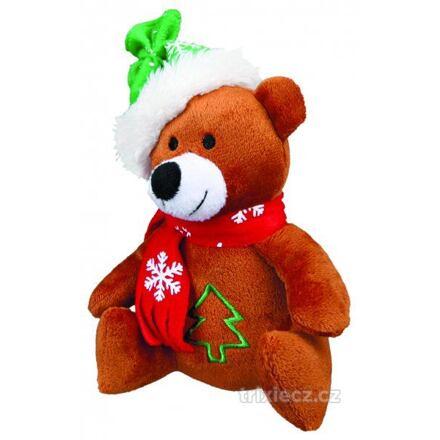 TRIXIE Vánoční plyšový Santa, sob, mědvěd 20 cm