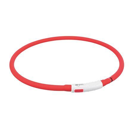 Flash USB svítící objek XS-XL 70 cm / 1 mm,  - červená