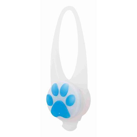 Flasher blikačka pro psy 2,4 cm / 8 cm bílá/barevná tlapka