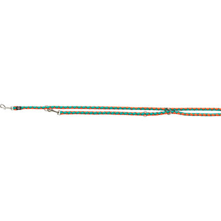 Vodítko CAVO prodlužovací, S-M: 2.00m/ ø 12mm, papája/oceán