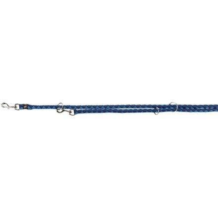 Trixie Vodítko CAVO kulaté prodlužovací L-XL  2m/18 mm,  - indigo/královská modrá