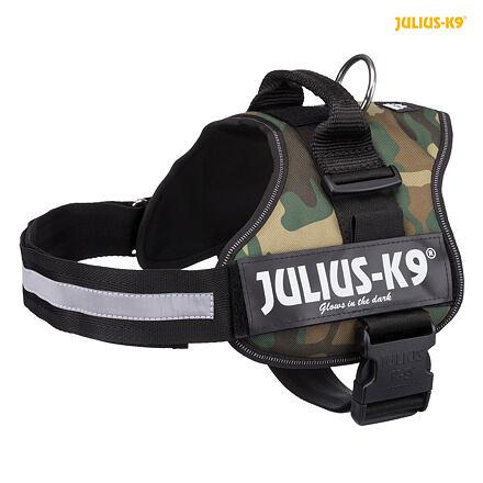 Trixie  Julius-K9 silový postroj XL/2: 71-96 cm/50 mm - maskáč