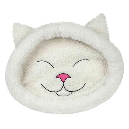 Trixie Pelíšek MIJOU kočičí hlava bílá 48 x 37 cm