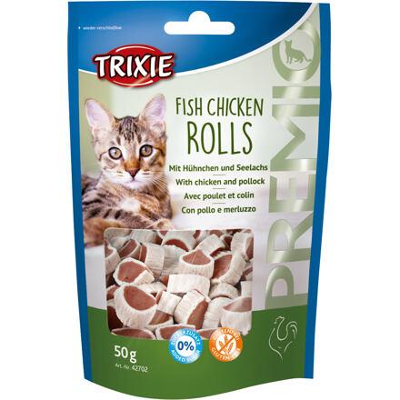 Trixie Premio ROLLS Light - rolky kuře - losos 50g TRIXIE
