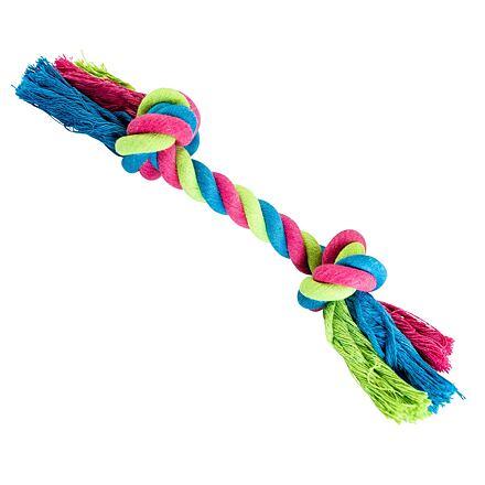 Uzel HipHop bavlněný 2  knoty 20 cm / 55 g růžová, modrá, zelená