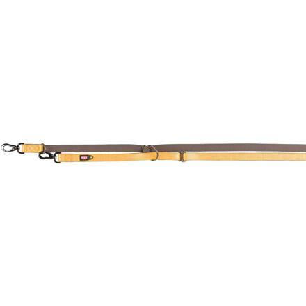 TRIXIE Vodítko EXPERIENCE prodlužovací L-XL 2,00 m/25 mm, žluté - DOPRODEJ