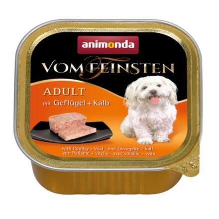 ANIMONDA paštika ADULT - drůbež, telecí pro psy 150g