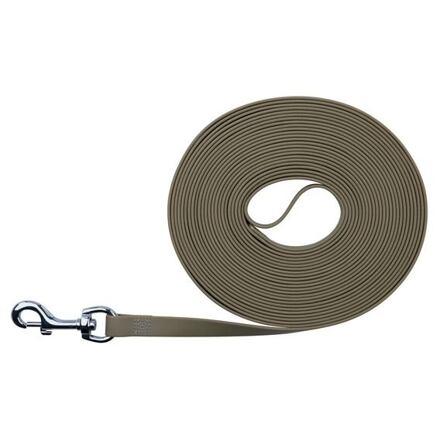 Easy Life trekové vodítko PVC 15,00 m/17 mm, taupe-šedé - DOPRODEJ
