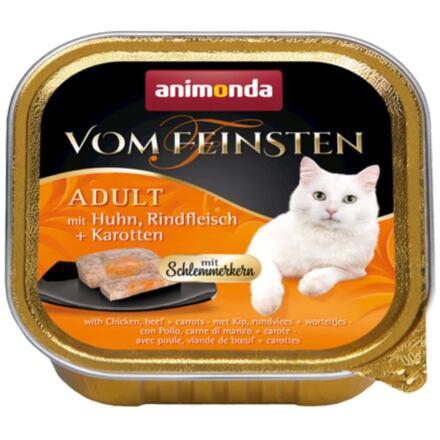 Animonda V.Feinsten CORE kuřecí, hovězí maso + mrkev pro kočky 100g