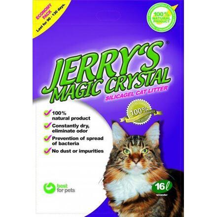 Kočkolit Jerrys Magic Crystals 16l Levandule