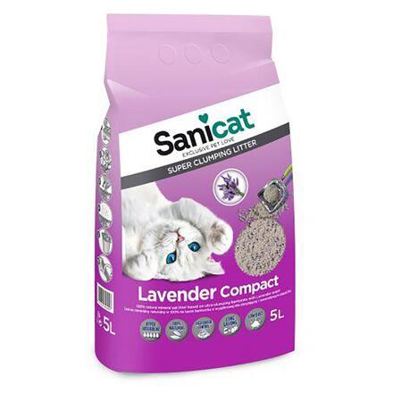 Sanicat SANICAT LAVENDER COMPACT 5 L hrudkující bentonit s levandulí