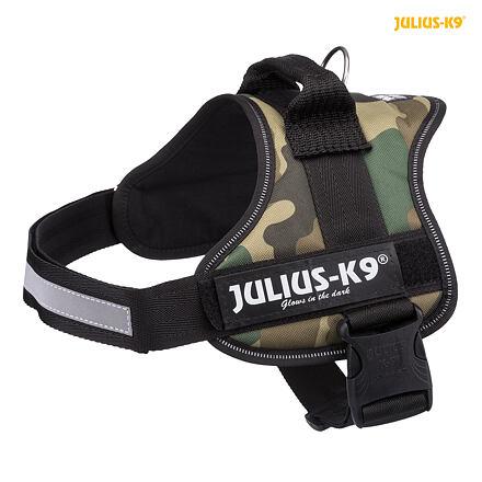 TRIXIE Julius-K9 silový postroj 0/M-L 58-76 cm,  - maskáčová