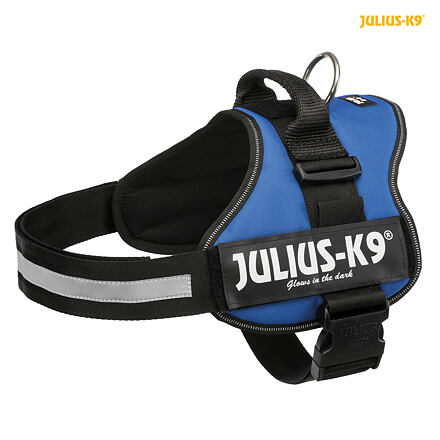 TRIXIE Julius-K9 silový postroj 3/XL 82-116 cm,  - modrá
