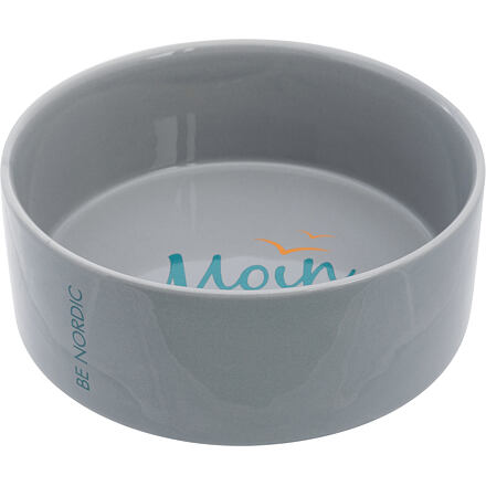BE NORDIC keramická miska  1,4 l/ø 20 cm, šedá