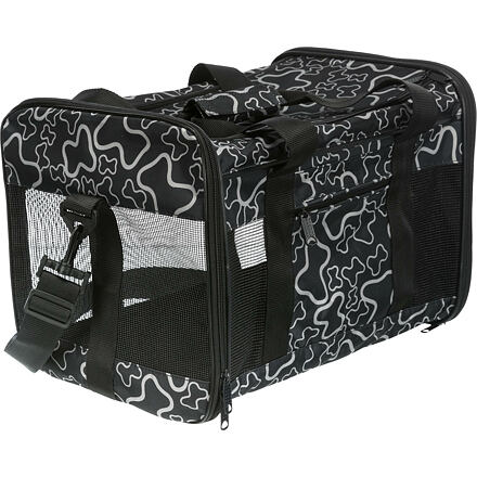 Trixie Nylon.přepravní taška ADRINA 42x27x26cm do 7 kg - KOSTIČKY