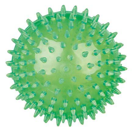 Trixie Ježatý míček,  pevný plast (TPR) 12 cm