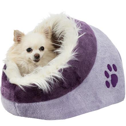 Trixie Pelíšek koule MINOU č.1  35x26x41cm,  - světle fialová/fialová