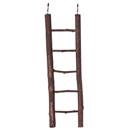 Natural Living dřevěný žebřík přírodní dřevo 5 příček/26 cm