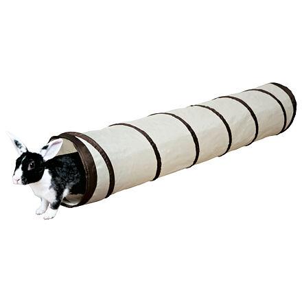 Trixie Nylonový tunel pro králíky, různé barvy ø 19 x 117 cm