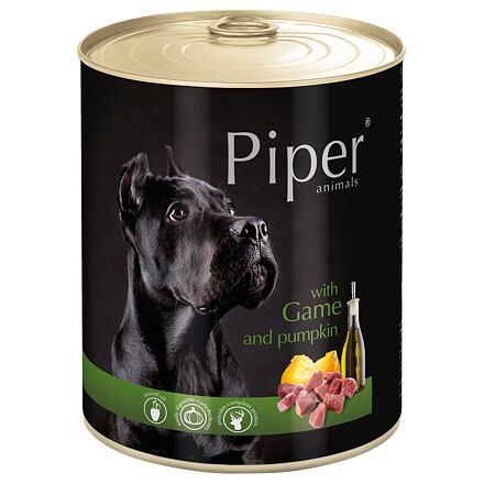 PIPER se zvěřinou a dýní, konzerva pro psy 800g