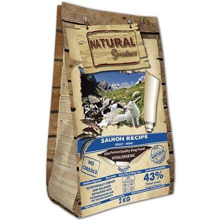 Natural Greatness Salmon Recipe Mini Sensitive /losos/ 2kg