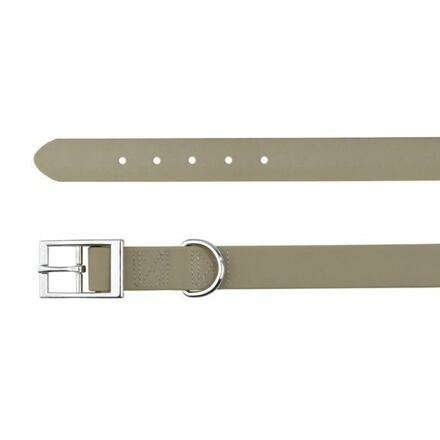 Trixie Easy Life obojek PVC S 27-35cm/17mm taupe-šedý DOPRODEJ