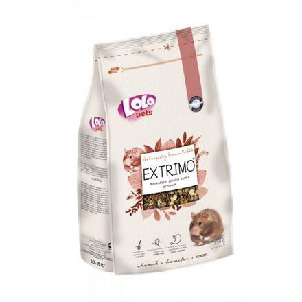 EXTRIMO kompletní krmivo pro křečky v sáčku se zipem 750 g