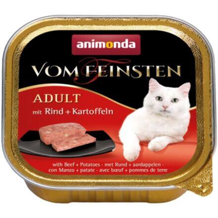 ANIMONDA paštika ADULT - hovězí + brambory pro kočky100g