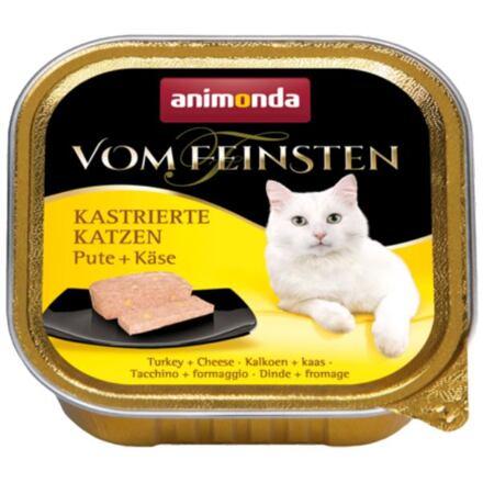 ANIMONDA paštika PRO KASTRÁTY- krůta+sýr 100g