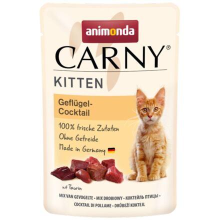 Carny Kitten 85 g drůbeží koktejl, kapsička pro koťata