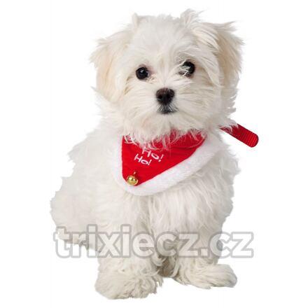 TRIXIE Vánoční šátek pro psa 30-40 cm/20 mm S-M